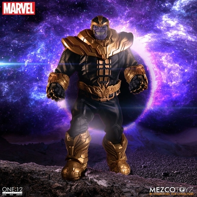 Figurine lumineuse Marvel Universe Thanos 21cm