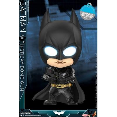 Figurine Batman Dark Knight Trilogy Cosbaby Batman with Sticky Bomb Gun 12cm