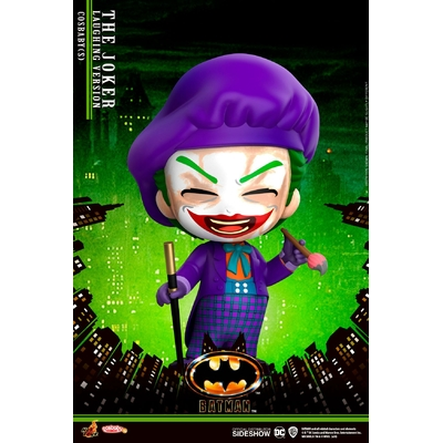 Figurine Batman 1989 Cosbaby Joker Laughing Version 12cm