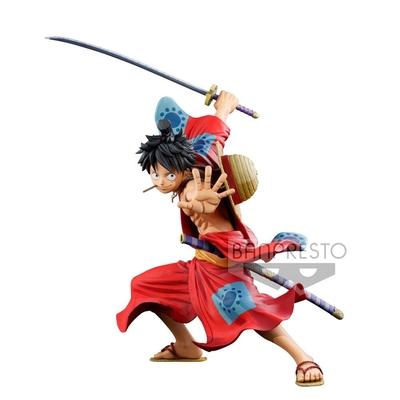 Statuette One Piece Master Stars Piece Monkey D. Luffy Manga Dimensions 19cm