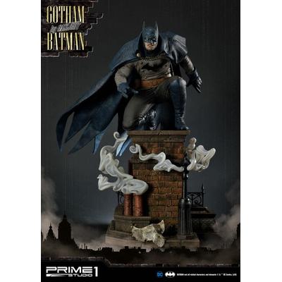Statue Batman Arkham Origins Gotham By Gaslight Batman Blue Version 57cm