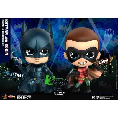 Pack 2 figurines Batman Forever Cosbaby Batman & Robin 11cm