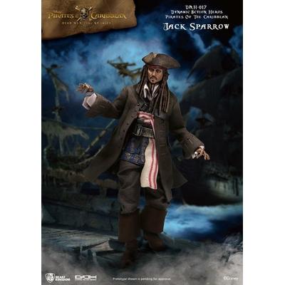 Figurine Pirates des Caraïbes Dynamic Action Heroes Jack Sparrow 20cm