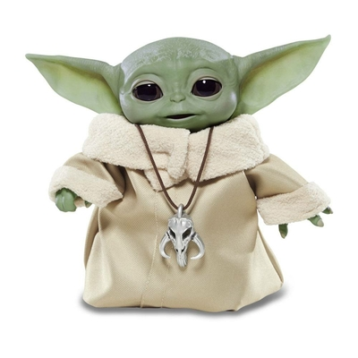 Figurine électronique Star Wars The Mandalorian Baby Yoda (The Child) Animatronic Edition