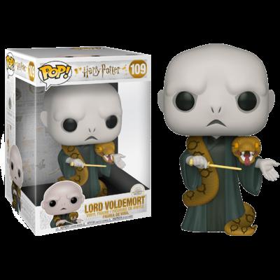 Figurine Harry Potter Super Sized Funko POP! Voldemort avec Nagini 25cm