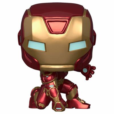 Figurine Marvel's Avengers (2020 video game) Funko POP! Marvel Iron man 9cm