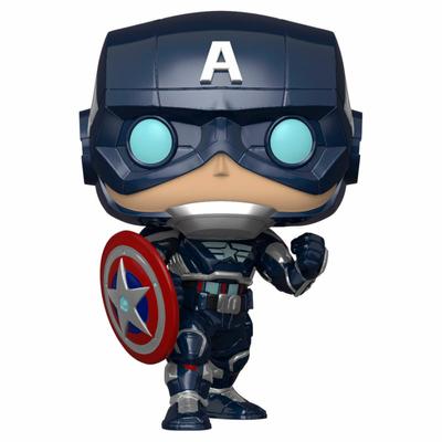 Figurine Marvel's Avengers (2020 video game) Funko POP! Marvel Captain America 9cm
