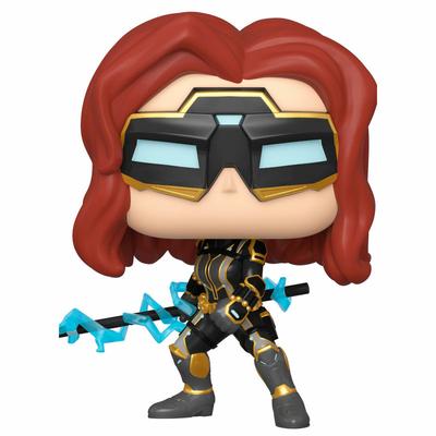 Figurine Marvel's Avengers (2020 video game) Funko POP! Black Widow 9cm