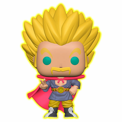 Figurine Dragon Ball Super Funko POP! Speciality Series Super Saiyan Hercule (Glow) 9cm