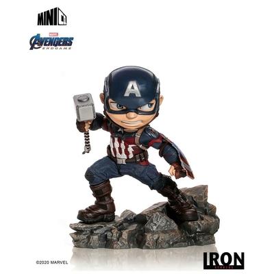 Figurine Avengers Endgame Mini Co. Captain America 15cm