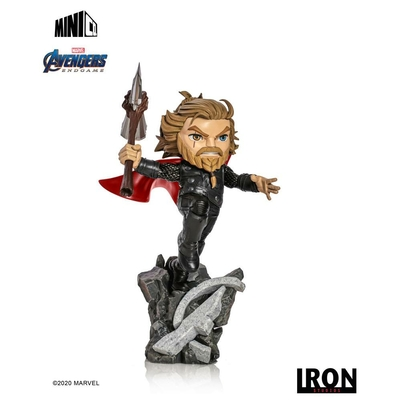 Figurine Avengers Endgame Mini Co. Thor 21cm