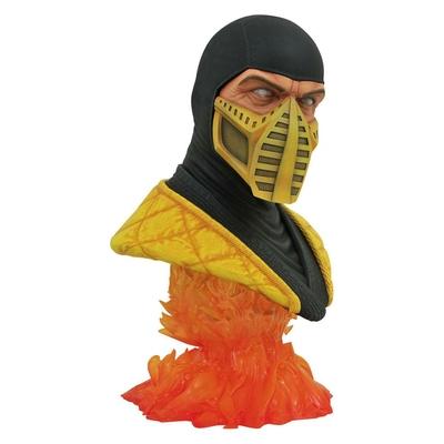 Buste Mortal Kombat Legends in 3D Scorpion 25cm