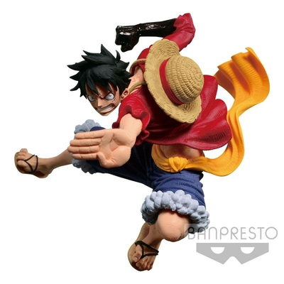 Statuette One Piece SCultures Colosseum VI Vol. 3 Monkey D. Luffy 8cm