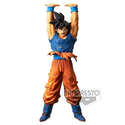 Statuette Dragon Ball Super Scultures Son Goku Give Me Energy Spirit Ball Special 23cm