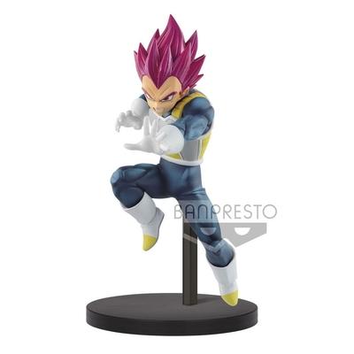 Statuette Dragon Ball Super Chosenshiretsuden Super Saiyan God Vegeta 13cm