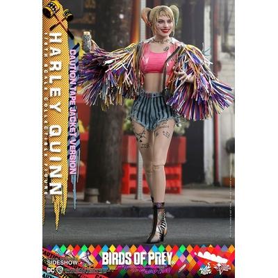 Figurine Birds of Prey Movie Masterpiece Harley Quinn Caution Tape Jacket Version 29cm