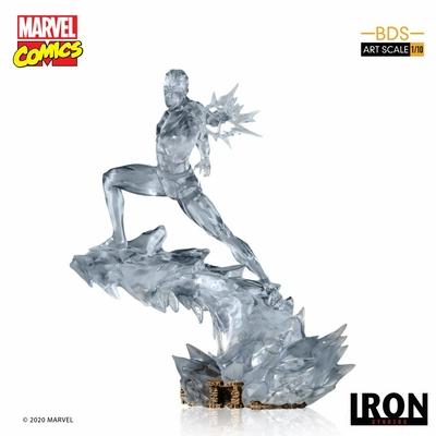 Statuette Marvel Comics BDS Art Scale Iceman 23cm