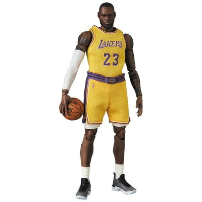Figurine NBA MAF EX LeBron James LA Lakers 18cm