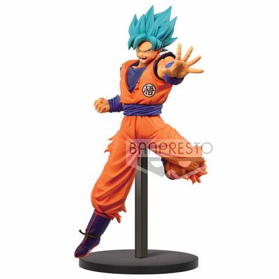 Statuette Dragon Ball Super Chosenshiretsuden SSGSS Son Goku 16cm