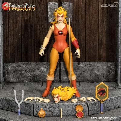 Figurine Thundercats Wave 3 Ultimates Cheetara the Super Speedy Thundercats Warrior 18cm