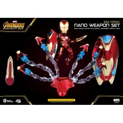 Accessoires Avengers Infinity War Egg Attack Iron Man Mark 50 Nano Weapon Set