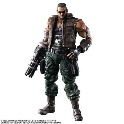 Figurine Final Fantasy VII Remake Play Arts Kai Barret Wallace Ver. 2 28cm