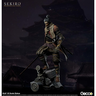 Statuette Sekiro Shadows Die Twice Wolf 40cm
