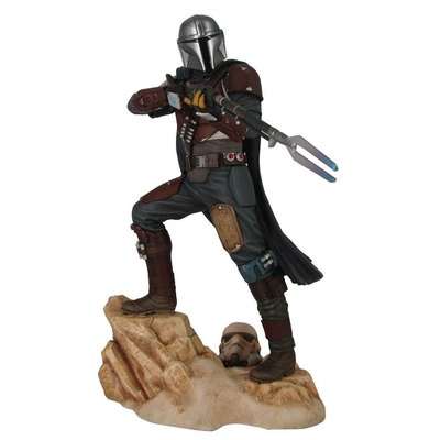 Statuette Star Wars The Mandalorian Premier Collection The Mandalorian 29cm