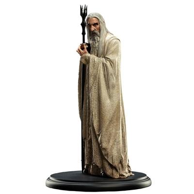 Statuette Le Seigneur des Anneaux Saroumane 19cm
