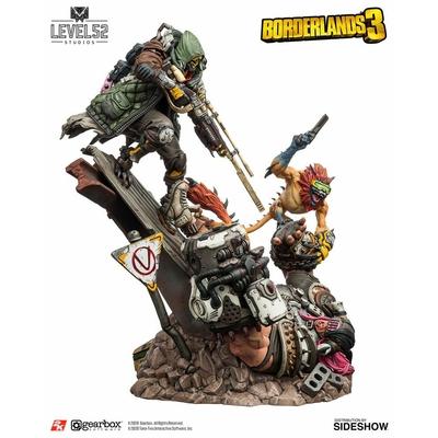 Statuette Borderlands 3 FL4K A Good Hunt 58cm