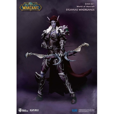 Figurine World of Warcraft Battle for Azeroth Dynamic Action Heroes Sylvanas Windrunner 21cm