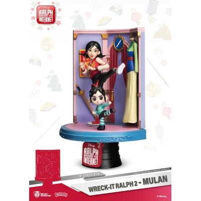 Diorama Ralph 2.0 D-Stage Mulan 18cm