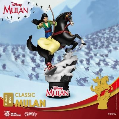 Diorama Disney D-Stage Mulan 18cm