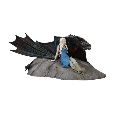 Statuette Game of Thrones Daenerys & Drogon 8 x 18 cm
