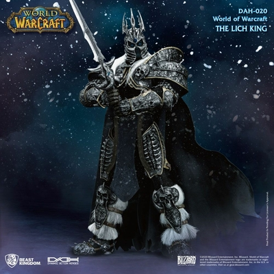 Figurine World of Warcraft Wrath of the Lich King Dynamic Action Heroes Arthas Menethil 24cm
