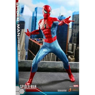 Figurine Marvel's Spider-Man Video Game Masterpiece Spider-Man Spider Armor MK IV Suit 30cm