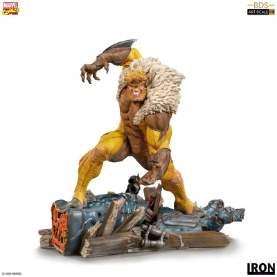 Statuette Marvel Comics BDS Art Scale Sabretooth 21cm
