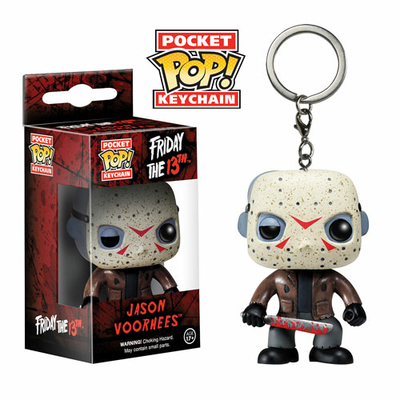 Porte-clés Vendredi 13 POP! Jason Voorhees 4cm