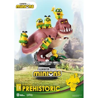 Diorama Minions D-Stage Prehistoric 15cm