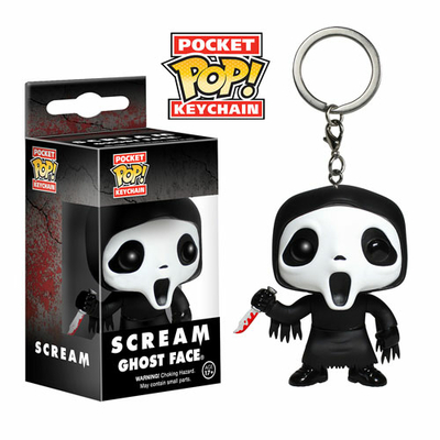 Porte-clés Scream POP! Ghost Face 4cm
