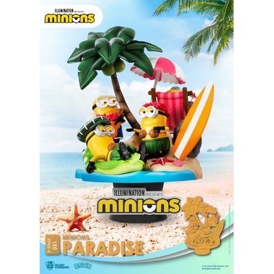 Diorama Minions D-Stage Paradise 15cm