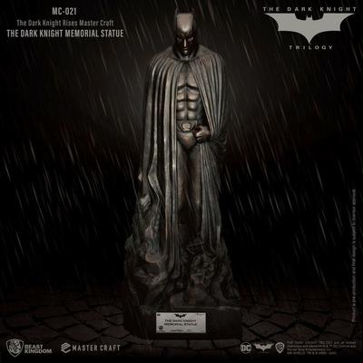 Statuette The Dark Knight Rises Master Craft The Dark Knight Memorial Batman 45cm