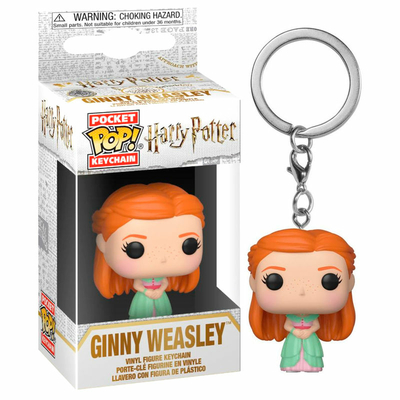 Porte-clés Harry Potter Pocket POP! Ginny Yule 4cm