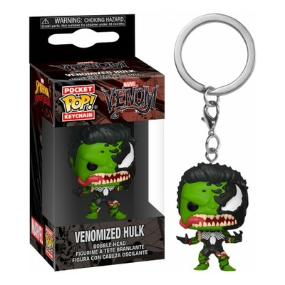 Porte-clés Marvel Venom Pocket POP! Hulk 4cm