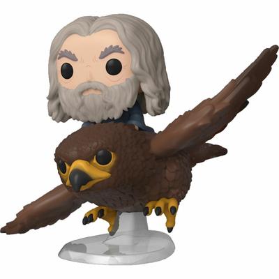 Figurine Le Seigneur des Anneaux Funko POP! Rides Gwaihir & Gandalf 15cm