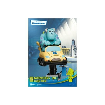 Diorama Disney Coin Ride Series D-Stage Monsters Inc. 16cm