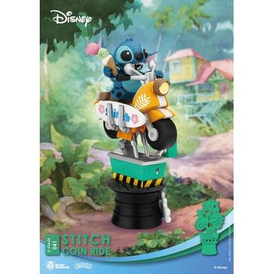 Diorama Disney Coin Ride Series D-Stage Stitch 16cm