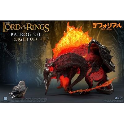 Figurine lumineuse Le Seigneur des Anneaux Defo-Real Series Balrog 15cm