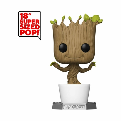 Figurine Guardians of the Galaxy Funko POP! Marvel Super Sized Dancing Groot 46cm