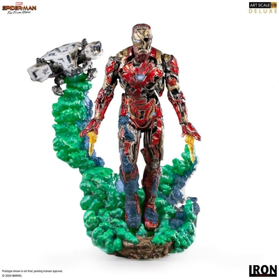 Statuette Spider-Man Far From Home BDS Art Scale Deluxe Iron Man Illusion 21cm